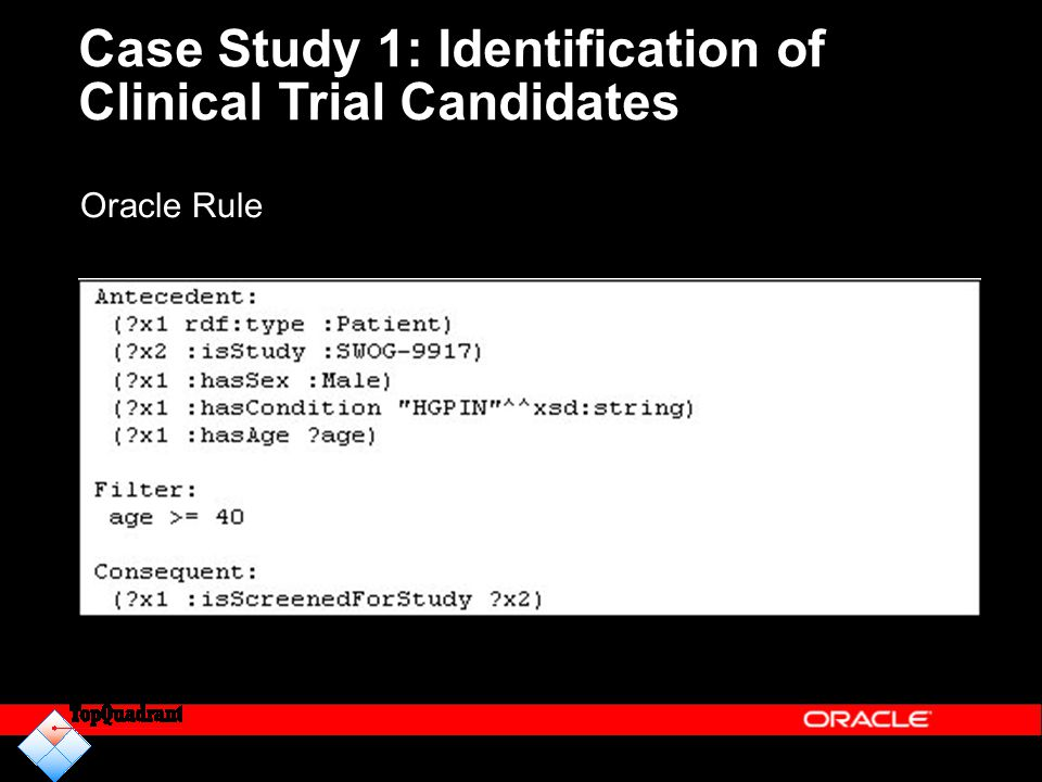 Case Study 1: Identification of Clinical Trial Candidates