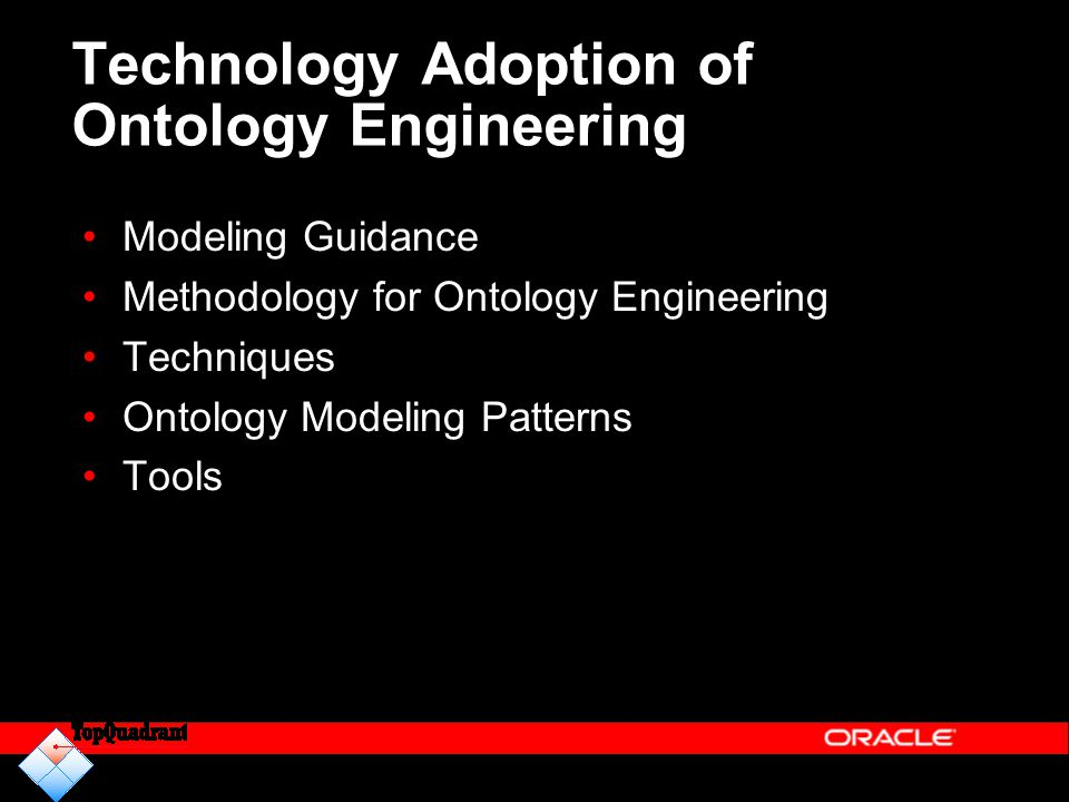 Technology Adoption of Ontology Engineering