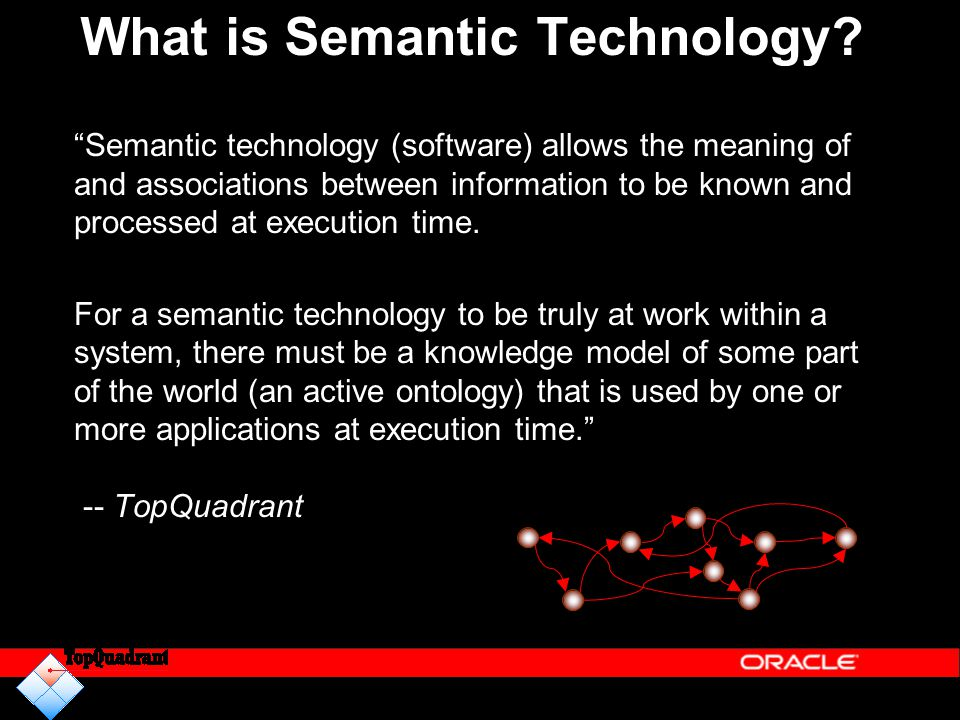 What is Semantic Technology