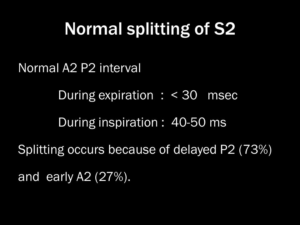 Normal splitting of S2