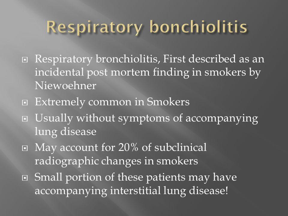 Respiratory bonchiolitis