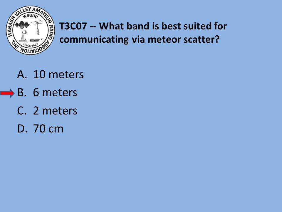 10 meters 6 meters 2 meters 70 cm