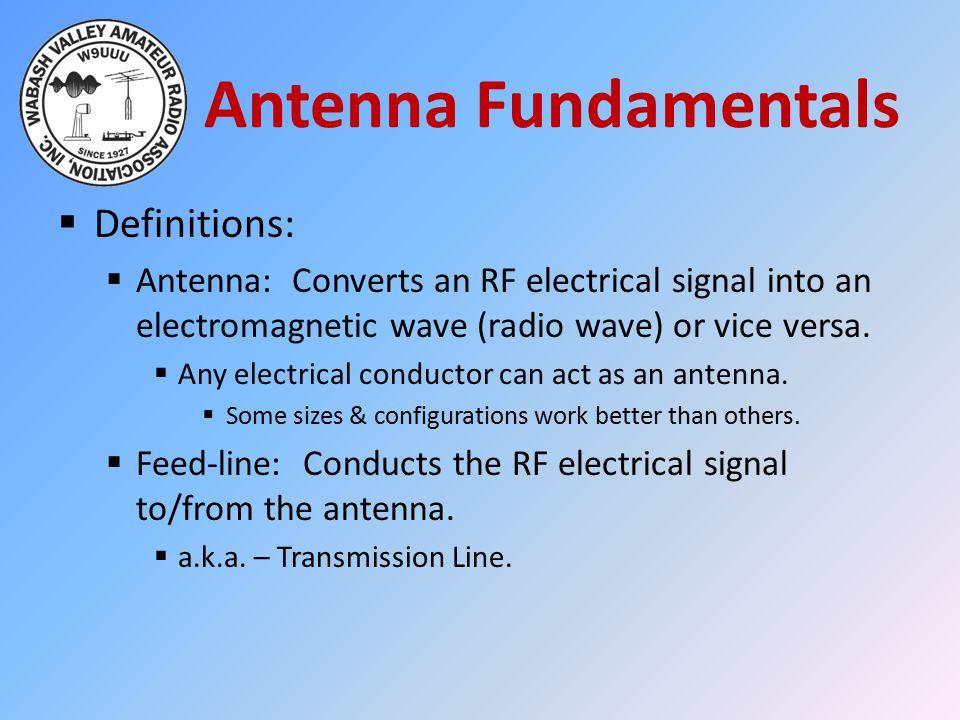 Antenna Fundamentals Definitions: