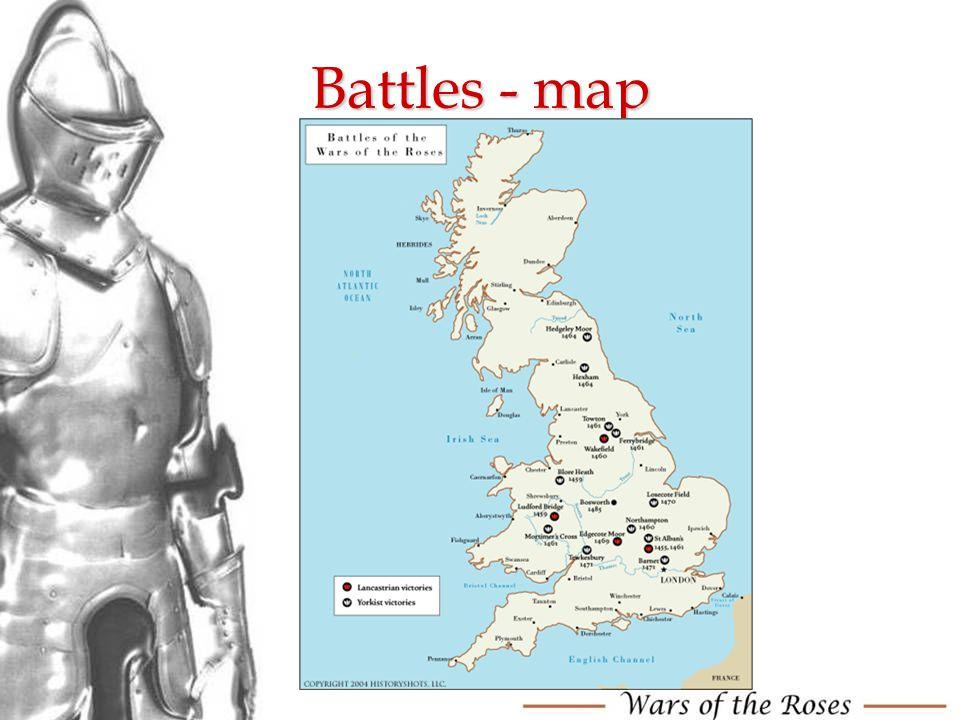 Battles - map