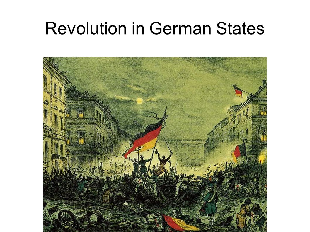 Revolution in German States
