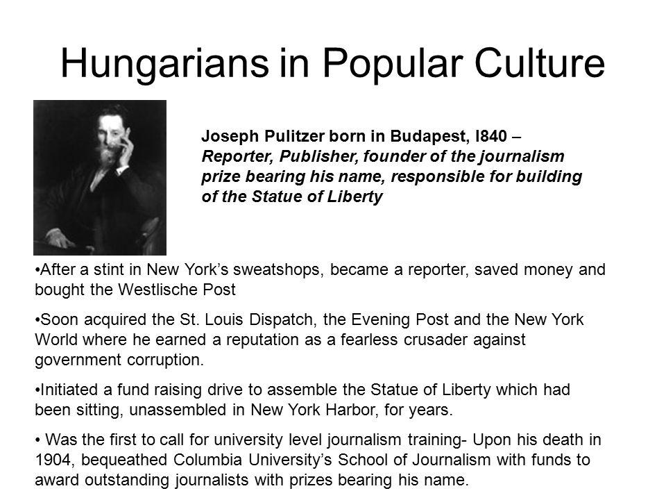 Hungarians in Popular Culture