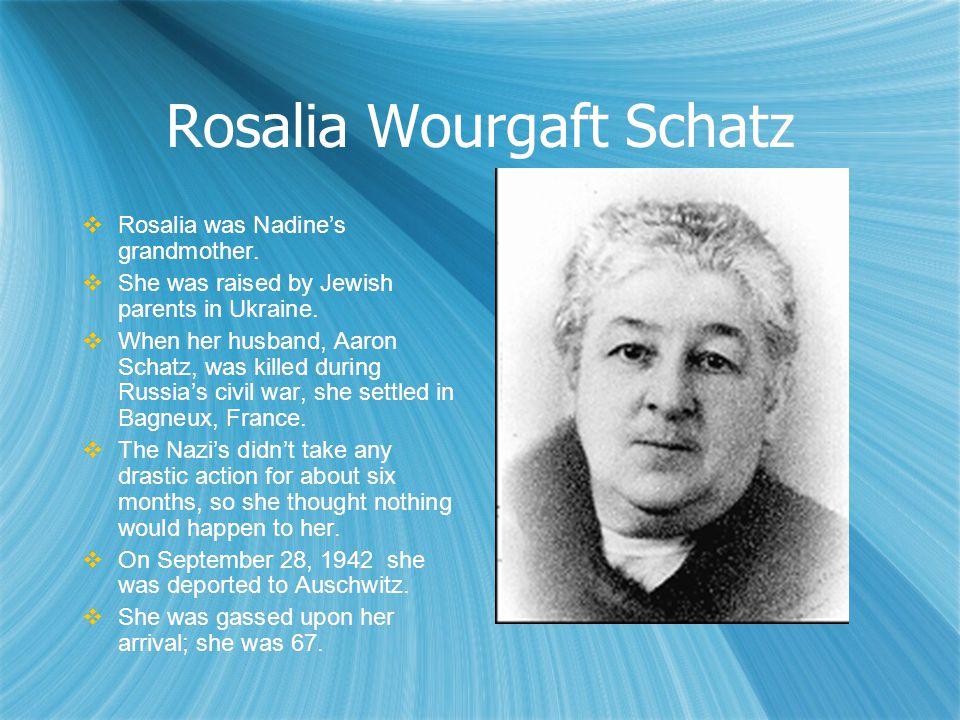 Rosalia Wourgaft Schatz