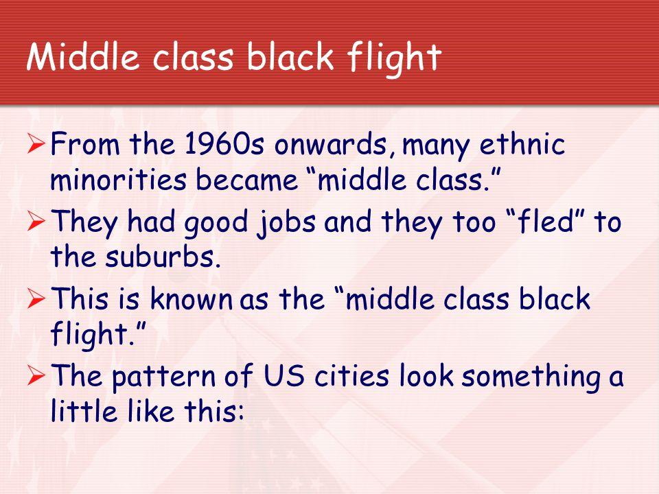 Middle class black flight
