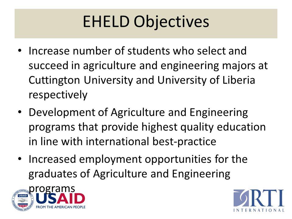 EHELD Objectives