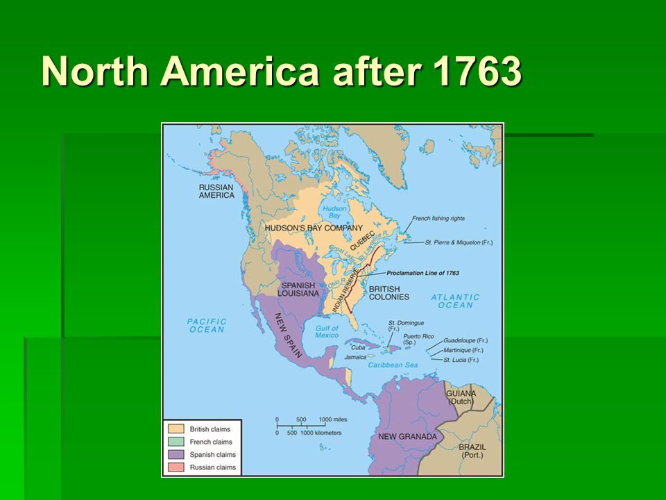 North America after 1763
