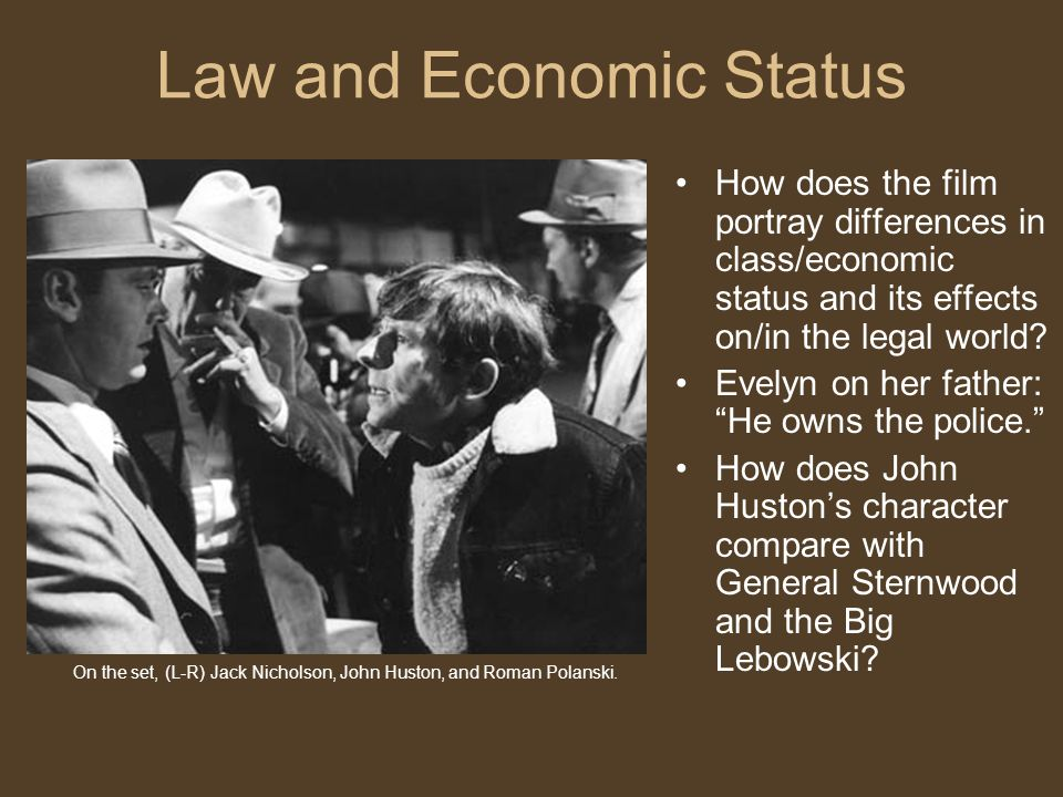 Law and Economic Status
