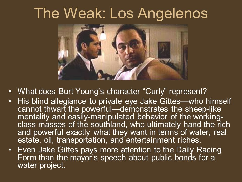 The Weak: Los Angelenos