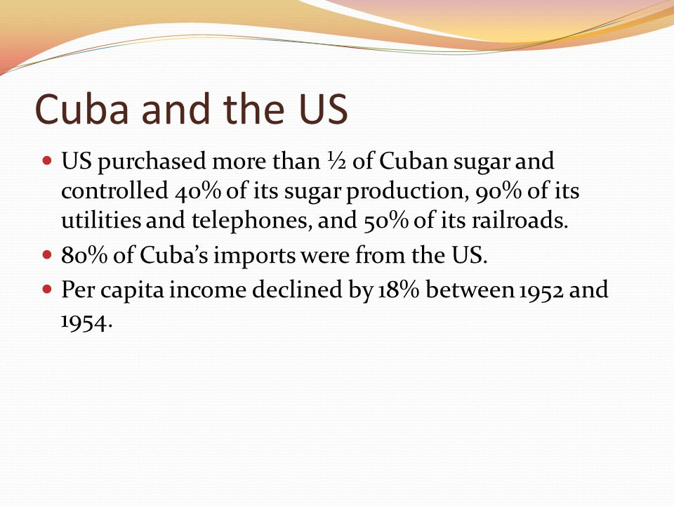 Cuba and the US