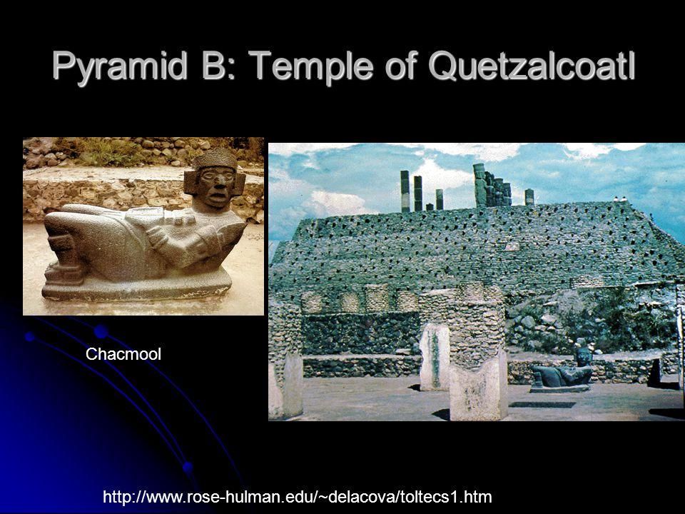 Pyramid B: Temple of Quetzalcoatl