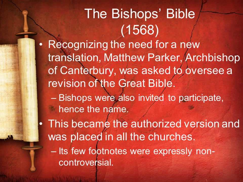 The Bishops' Bible (1568)