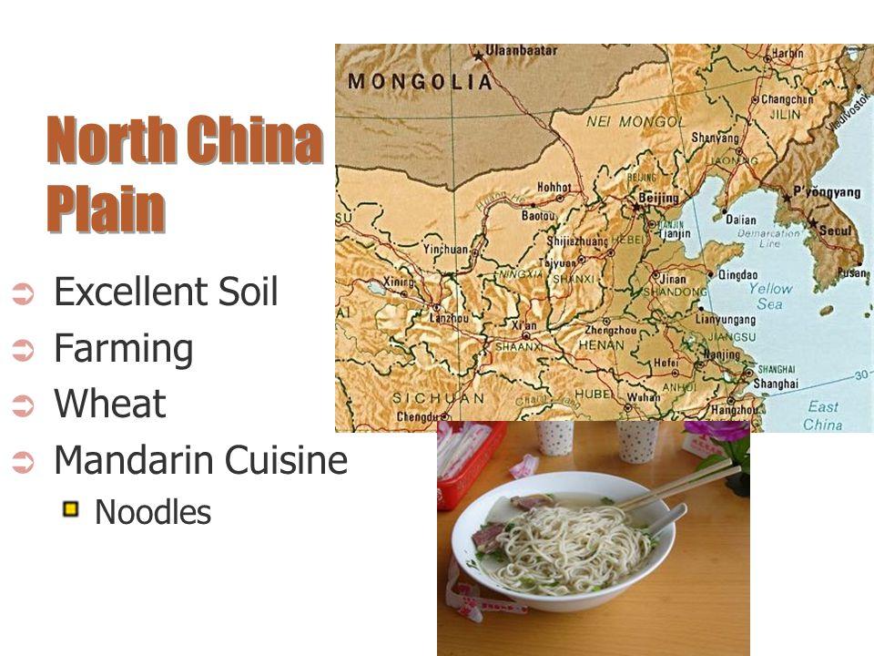 North China Plain Excellent Soil Farming Wheat Mandarin Cuisine