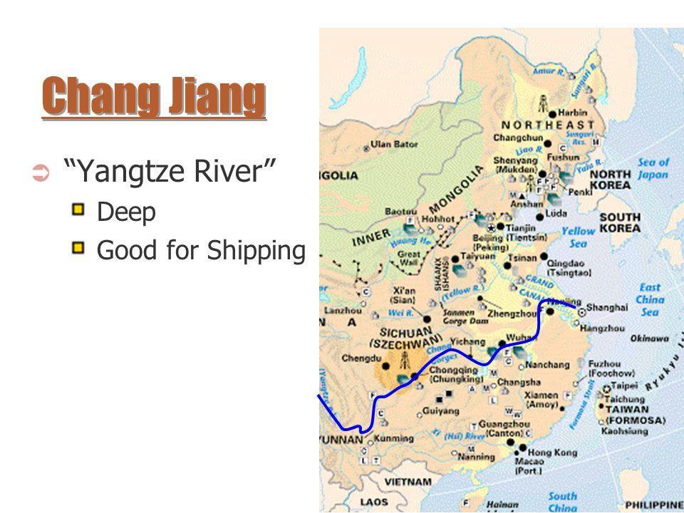 Chang Jiang Yangtze River Deep Good for Shipping