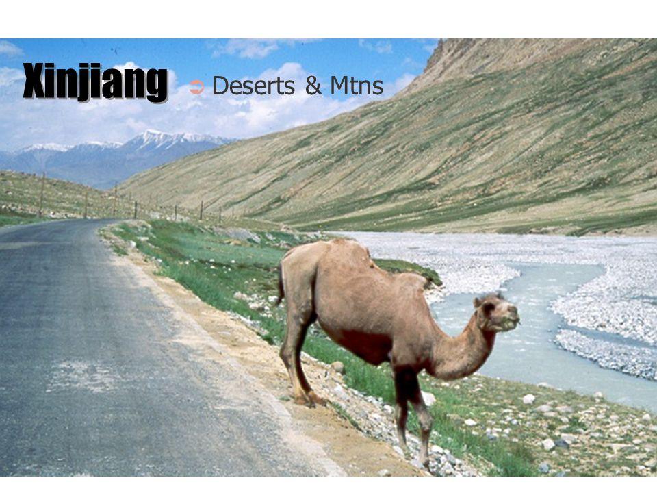 Xinjiang Deserts & Mtns