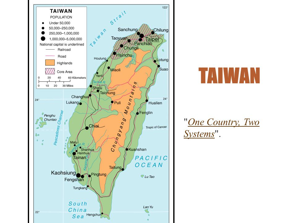 TAIWAN One Country, Two Systems .