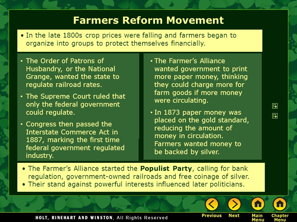 Farmers Reform Movement