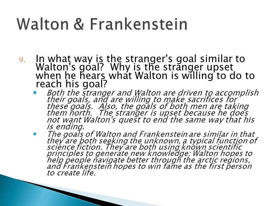 Walton & Frankenstein