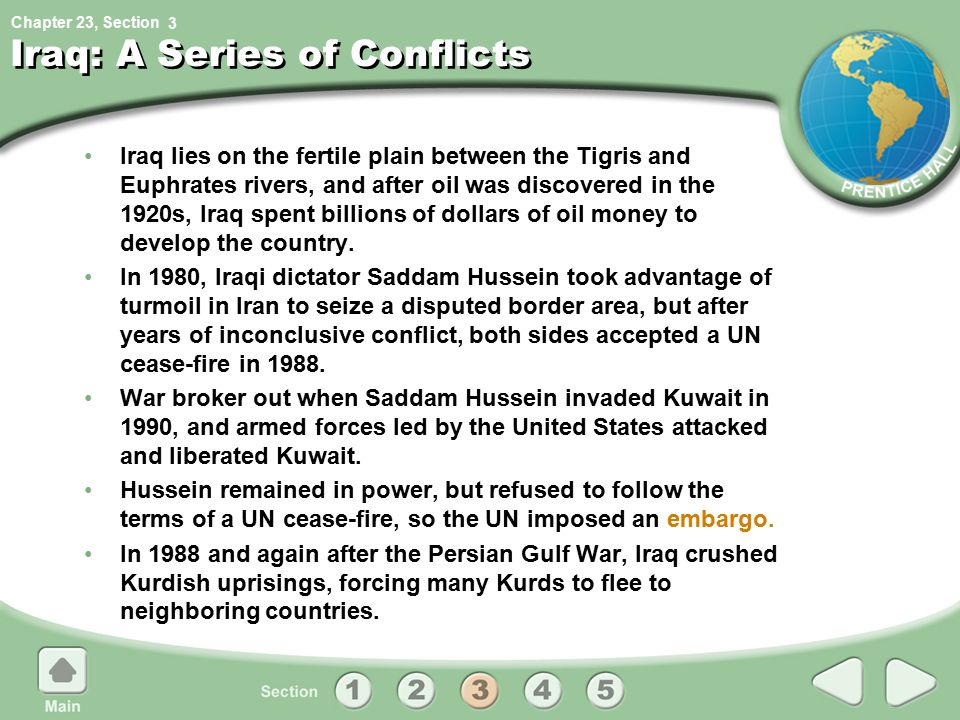 Iraq: A Series of Conflicts