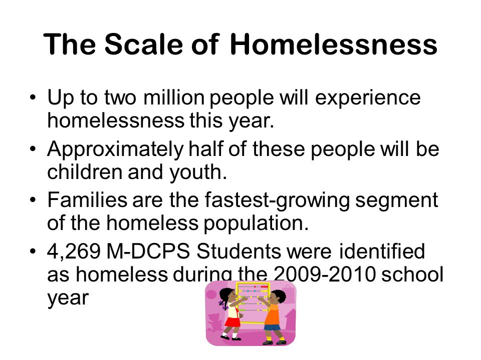 The Scale of Homelessness