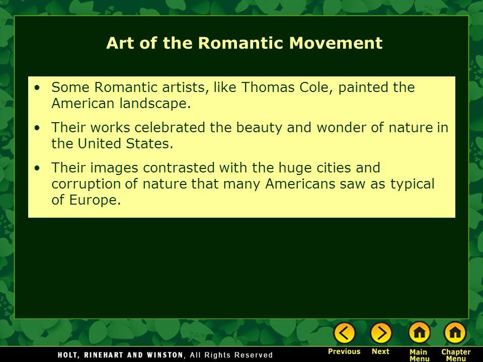 Art of the Romantic Movement