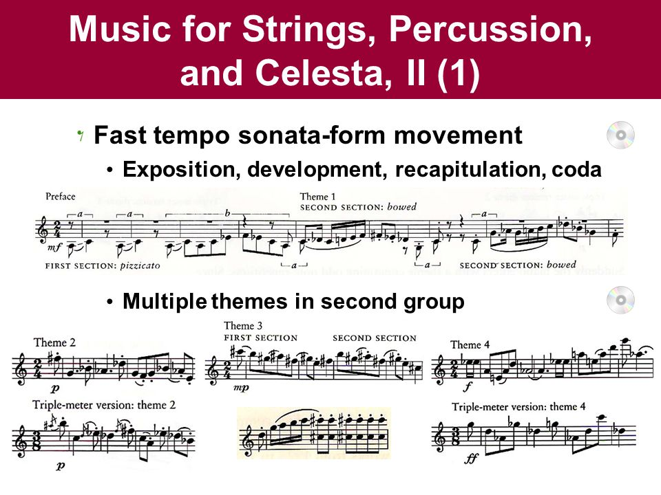 Music for Strings, Percussion, and Celesta, II (1)