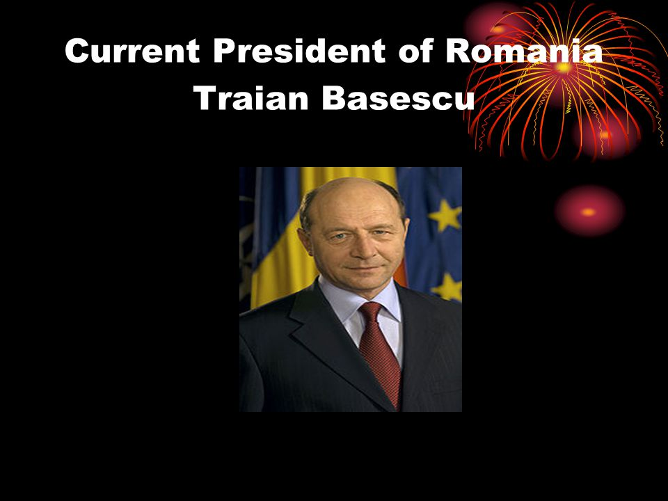 Current President of Romania Traian Basescu