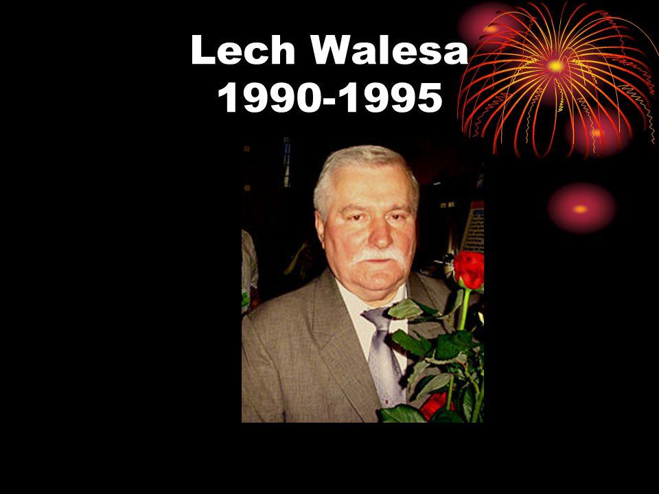 Lech Walesa 1990-1995