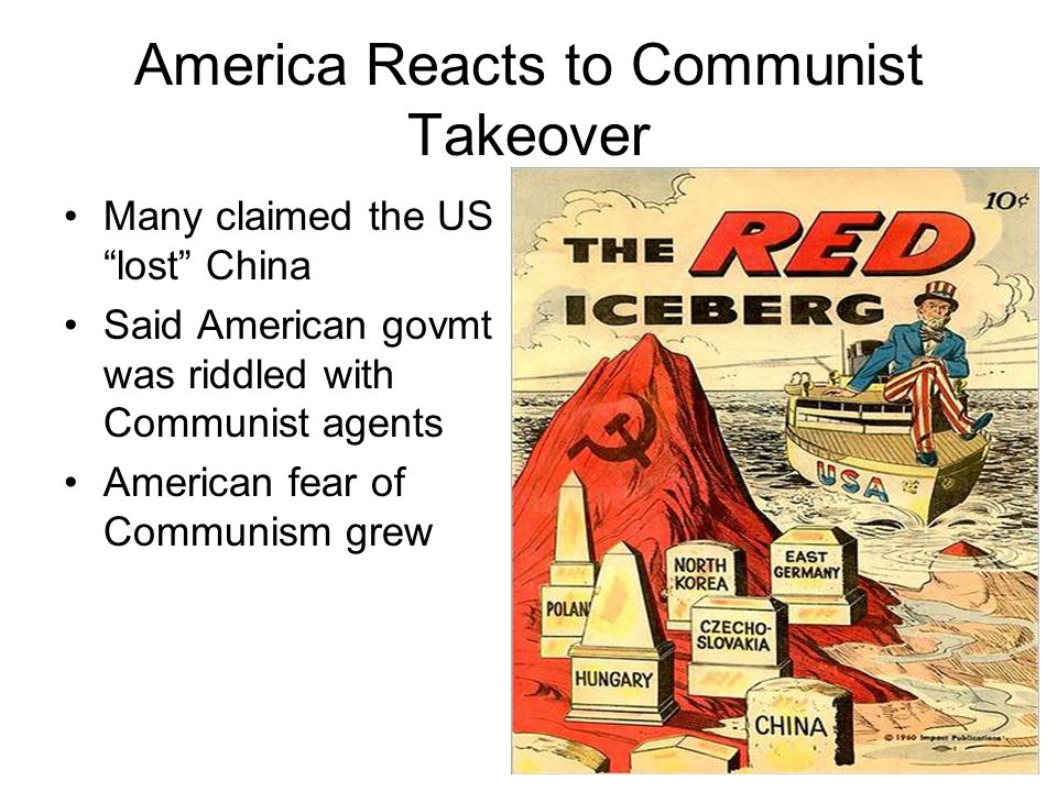 America Reacts to Communist Takeover