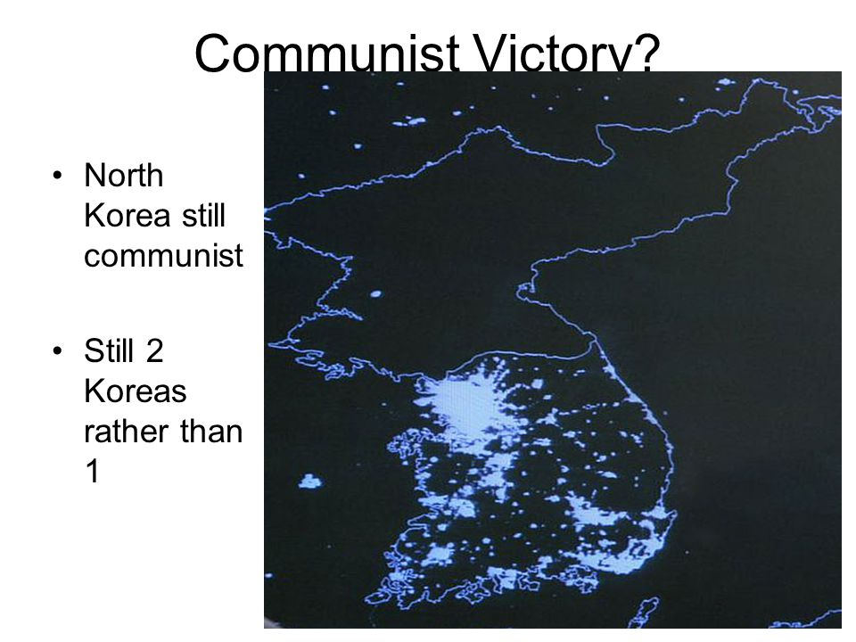 Communist Victory North Korea still communist