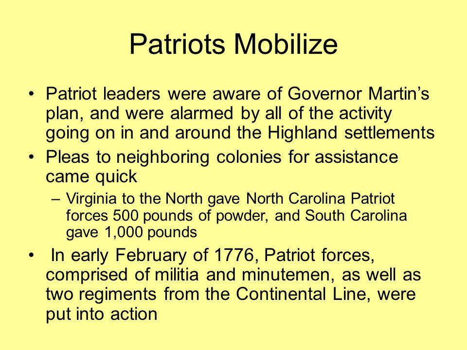 Patriots Mobilize