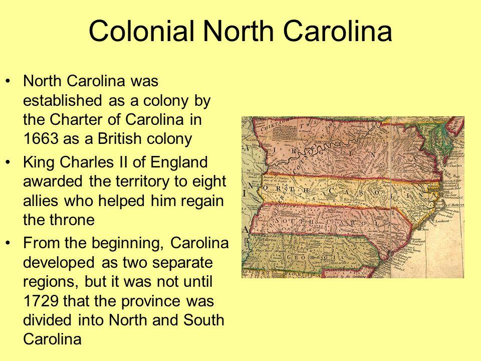 Colonial North Carolina