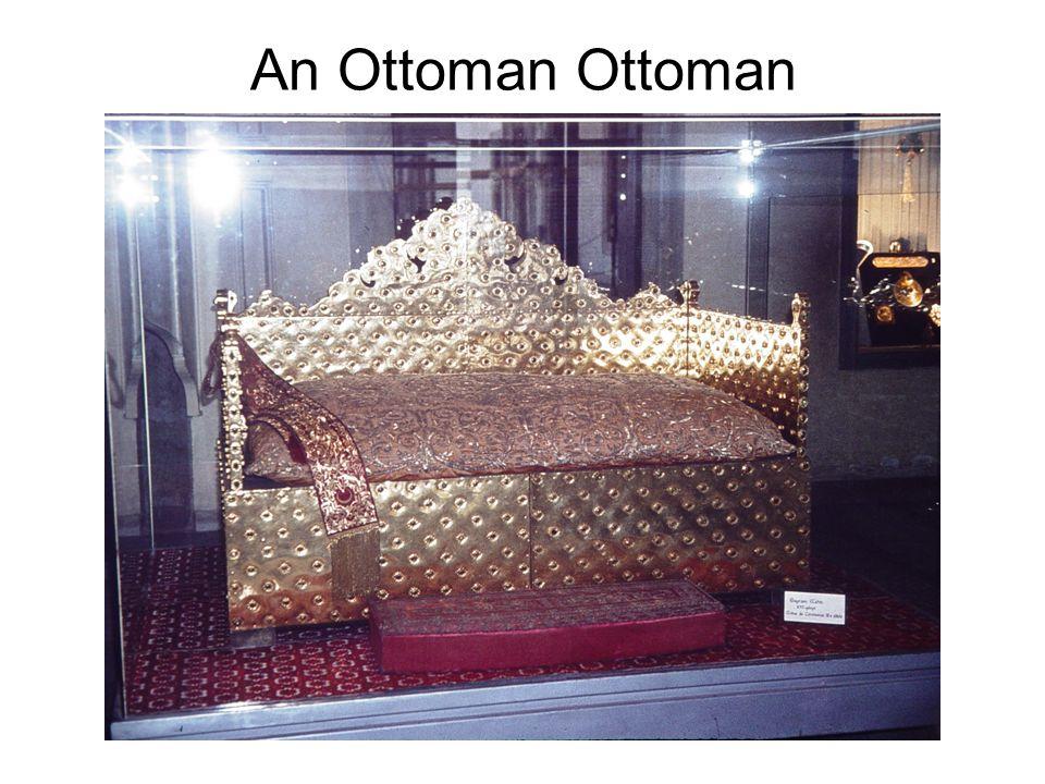 An Ottoman Ottoman