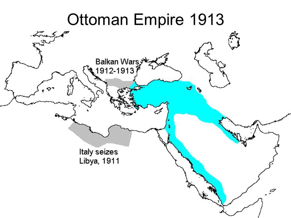 Ottoman Empire 1913
