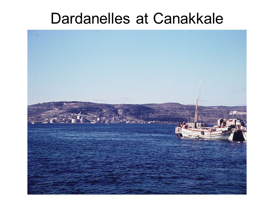 Dardanelles at Canakkale