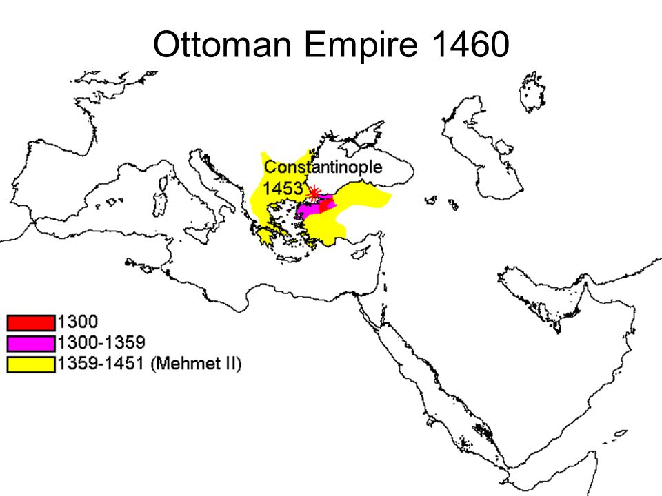 Ottoman Empire 1460