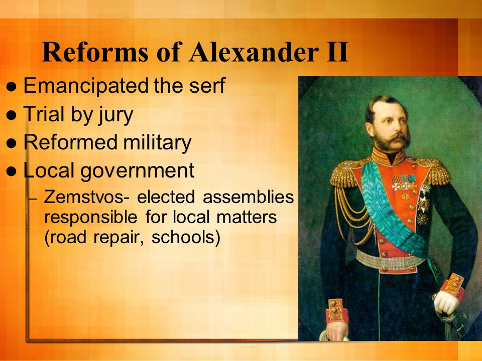 Reforms of Alexander II