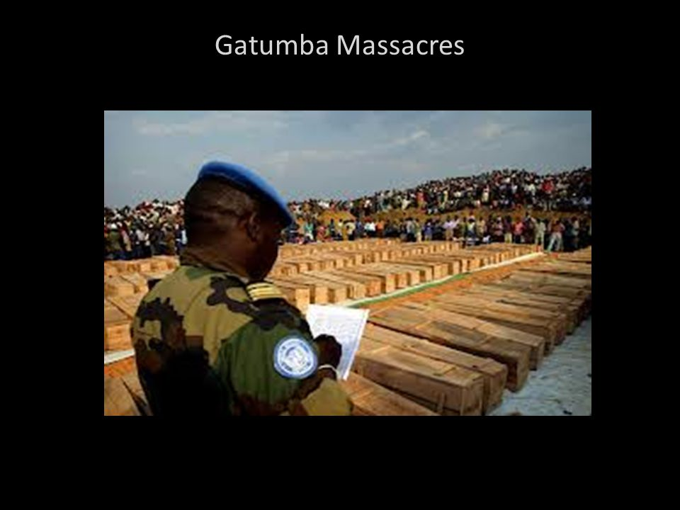 Gatumba Massacres