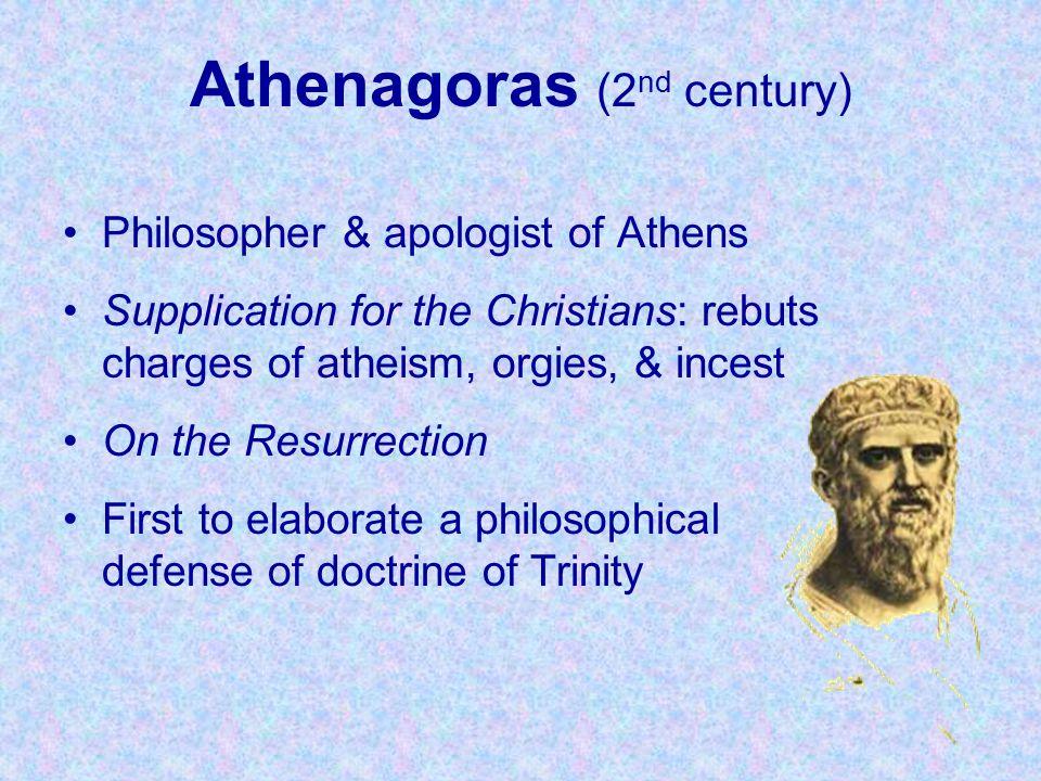 Athenagoras (2nd century)