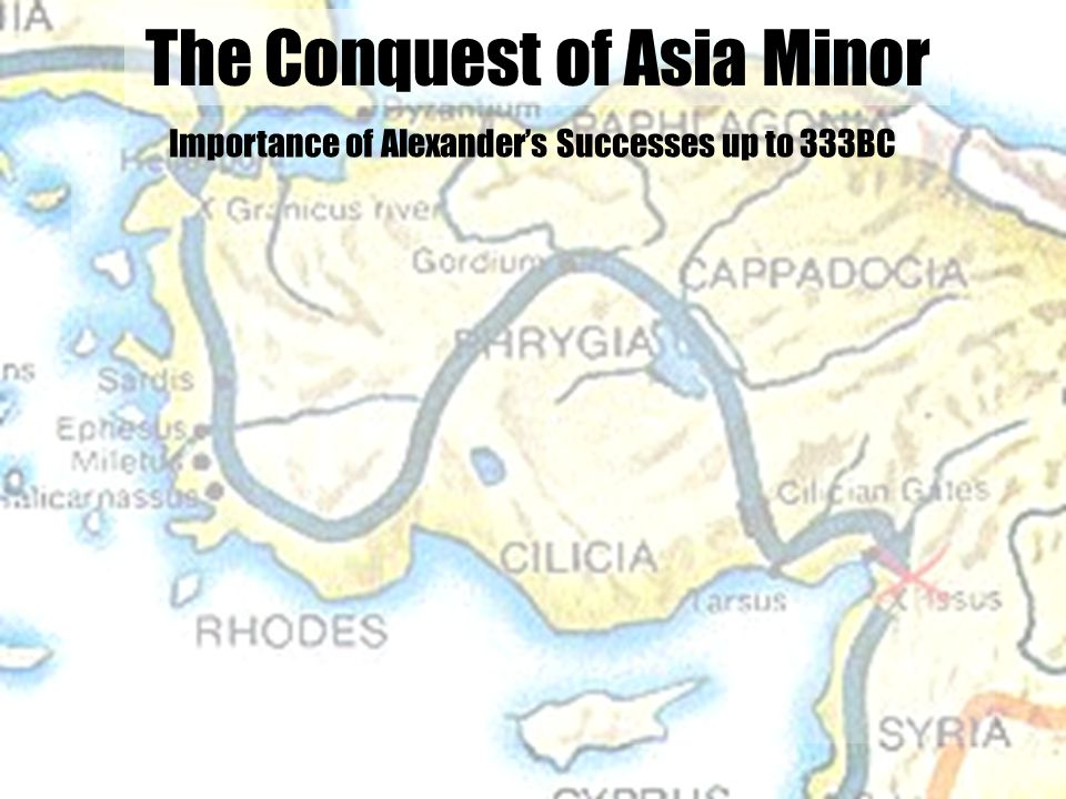 The Conquest of Asia Minor