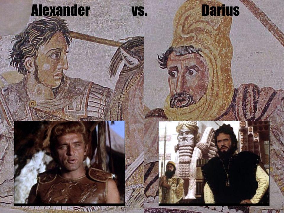 Alexander vs. Darius