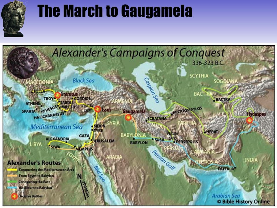 The March to Gaugamela