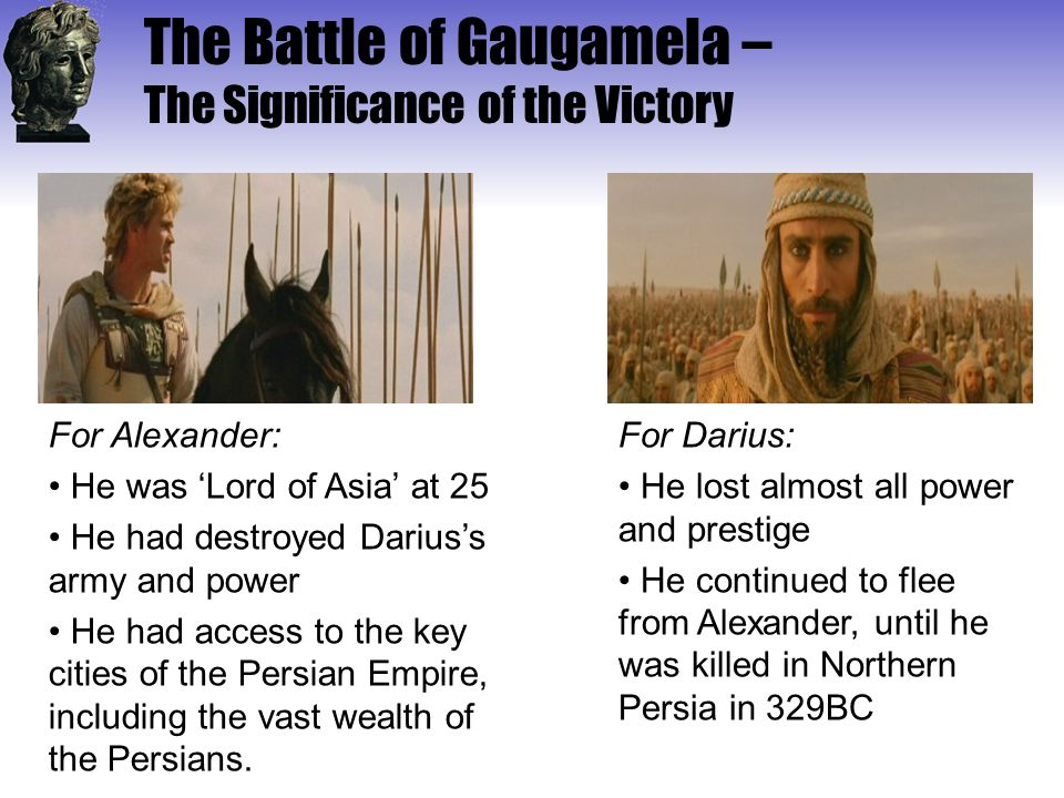 The Battle of Gaugamela – The Significance of the Victory