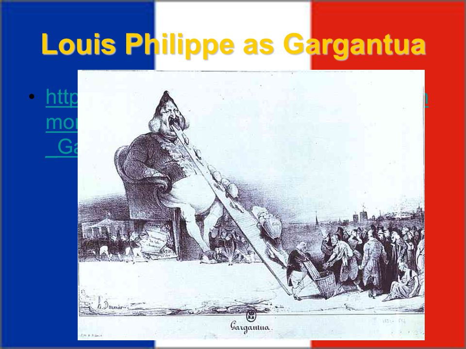 Louis Philippe as Gargantua
