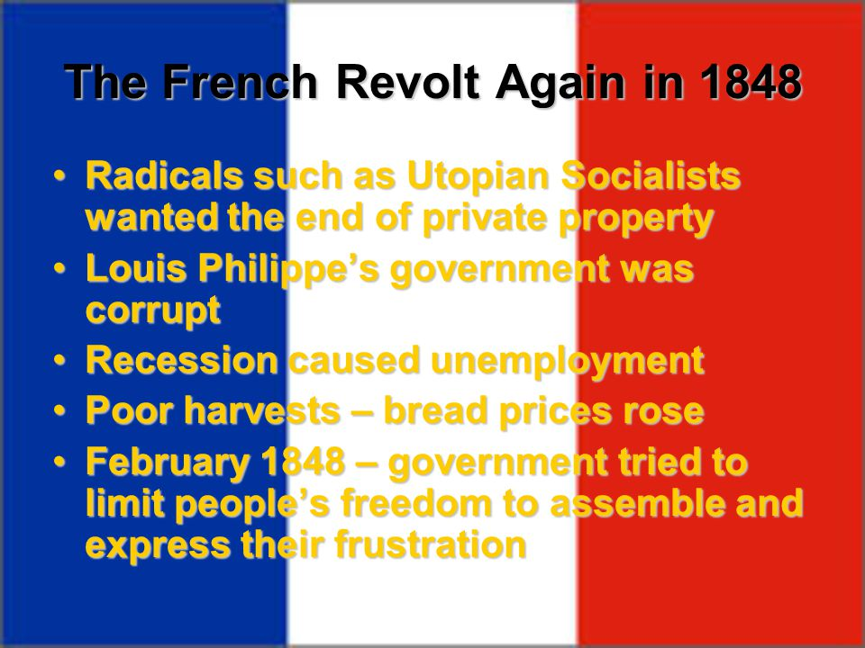 The French Revolt Again in 1848