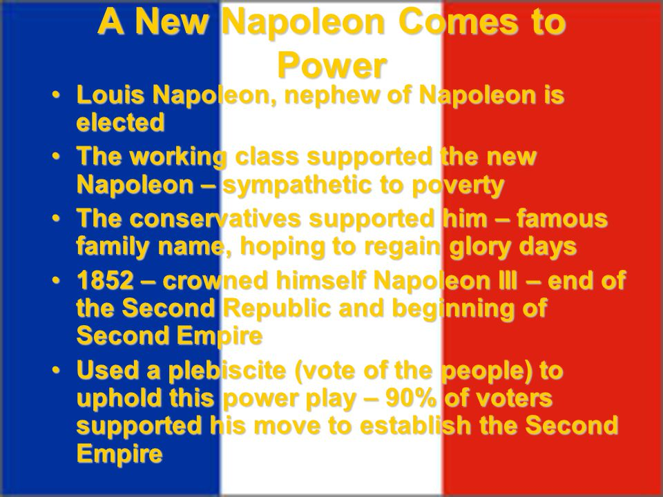 A New Napoleon Comes to Power
