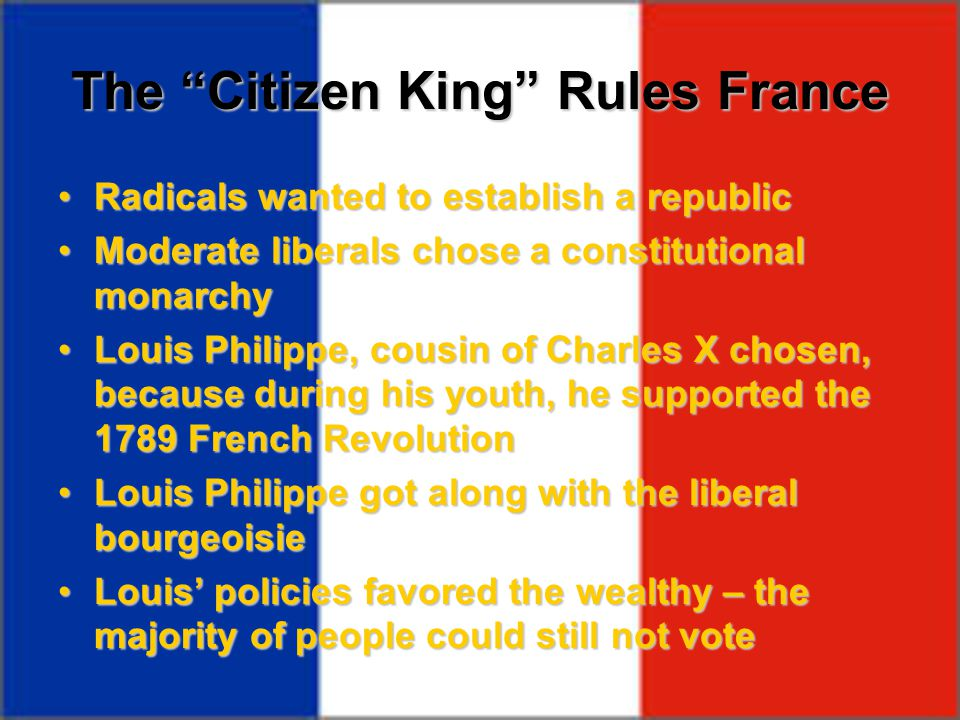 The Citizen King Rules France